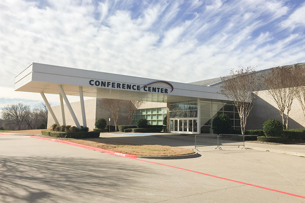 Conference Center entrance