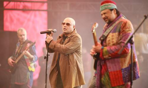 Junoon on stage
