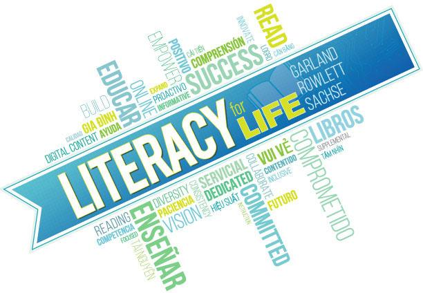 Literacy for life colorful logo