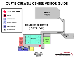 CCC Conference map
