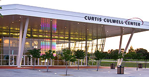 Curtis Culwell Center front entrance